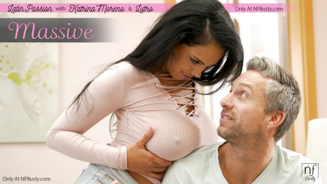Katrina Moreno can not restrain herself and is very excited